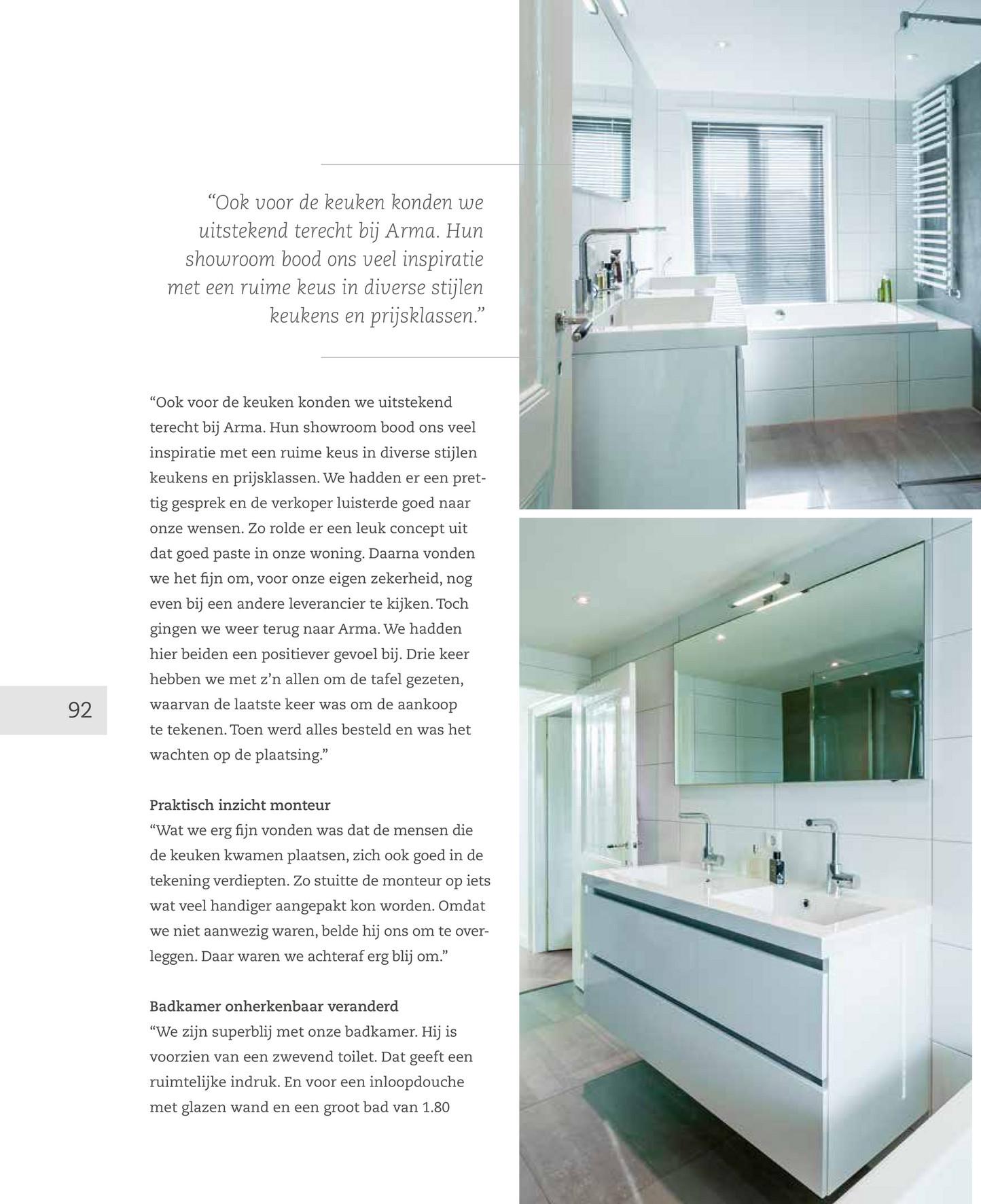 dbkeukens magazine db keukengroep pagina 92 93